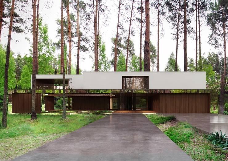modern Houses by REFORM Architekt Marcin Tomaszewski