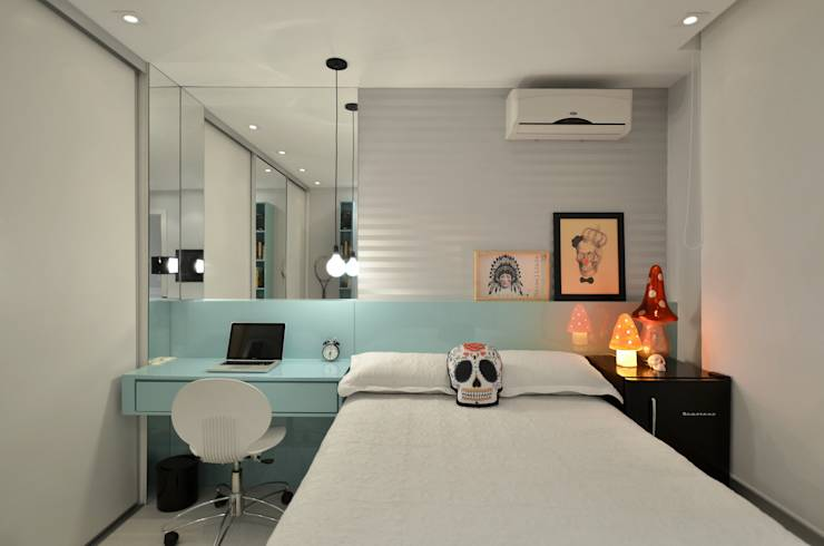 creative ways to design a small bedroom