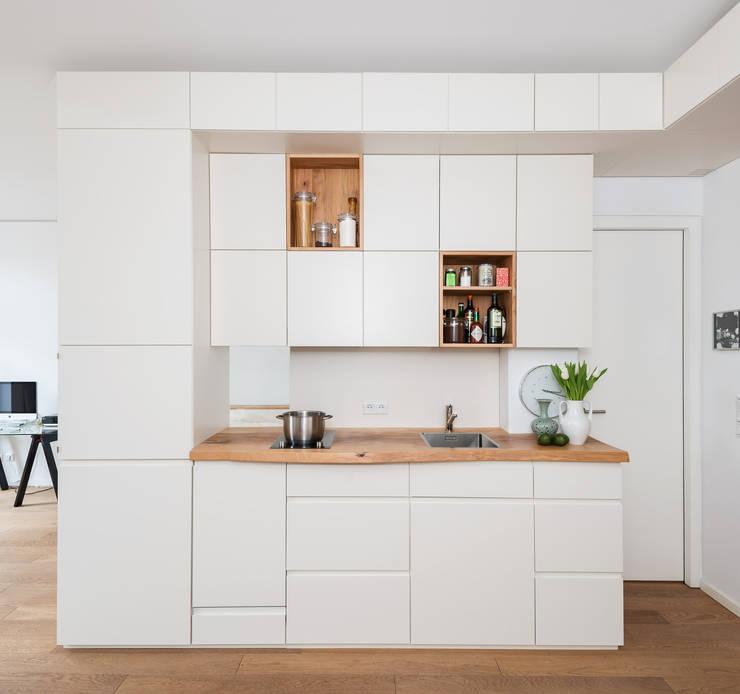 modern Kitchen by Holzgeschichten