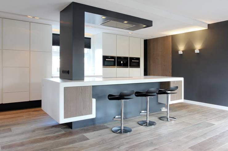 Kookeiland design eiland keuken kookeiland keukens met keukeneiland - Bar design keuken ...