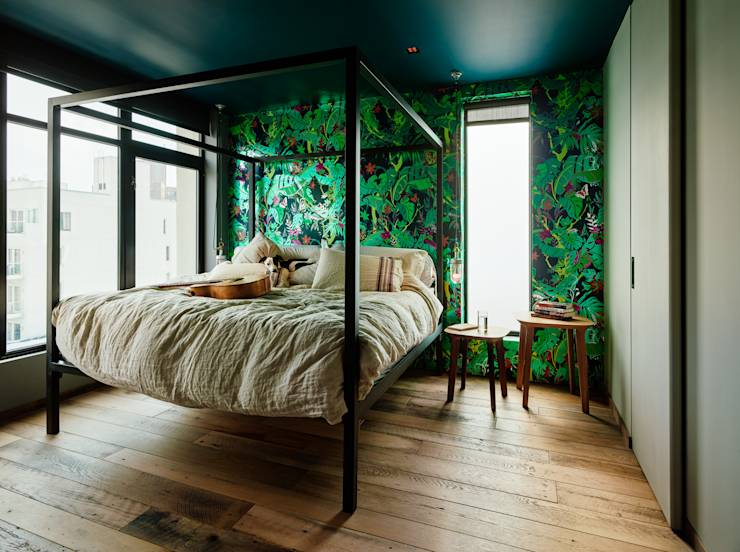 12 clever space saving solutions for small bedrooms for Space saving solutions for small bedrooms
