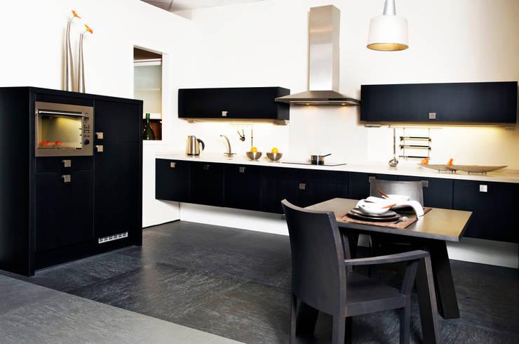 Idee n en tips voor het inrichten van zwarte keukens - Decoratie van keukens ...