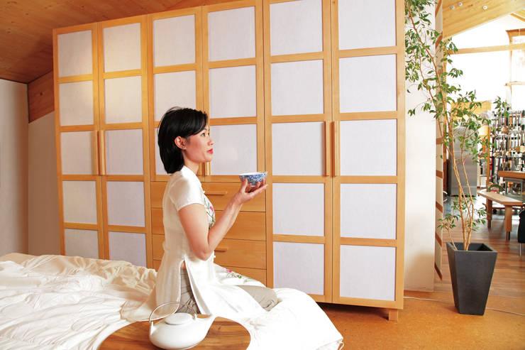 Japanisches schlafzimmer for Asiatische wanddeko