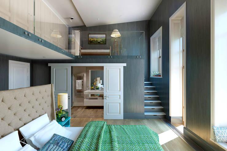 eclectische Slaapkamer door lab21studio