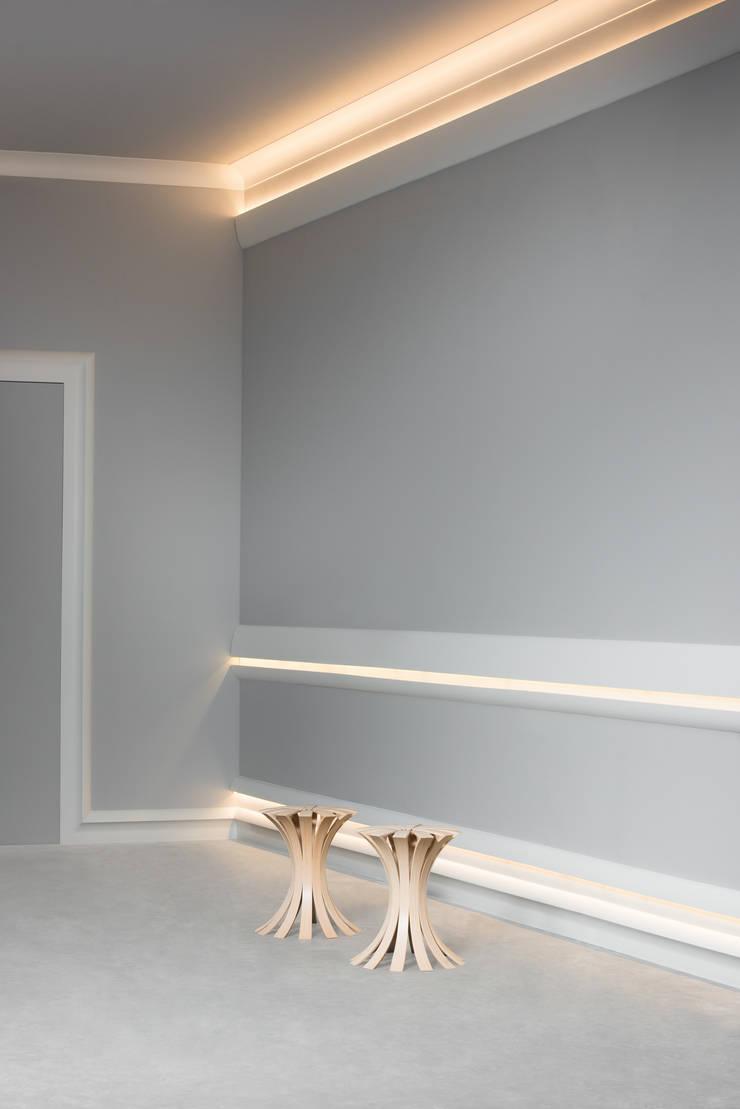 Cornici per l 39 illuminazione indiretta di bianchi lecco srl for Cornici per strisce led