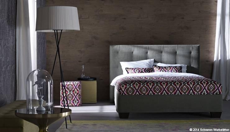 schramm betten von bolz licht design gmbh homify. Black Bedroom Furniture Sets. Home Design Ideas