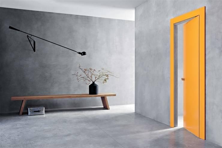 Puertas y ventanas de estilo moderno por Timberplan
