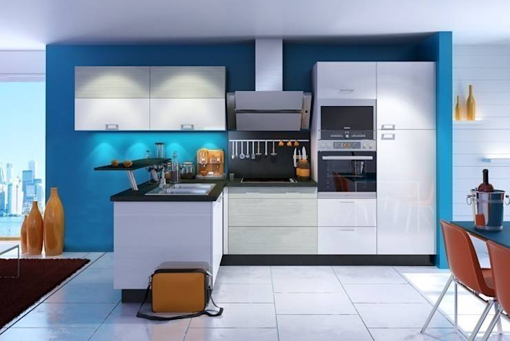 cocinas tipo bar 10 ideas sensacionales. Black Bedroom Furniture Sets. Home Design Ideas