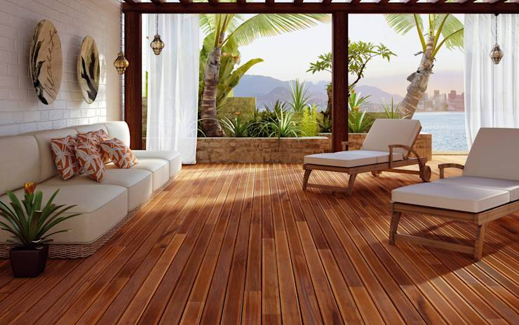 6 sencillos pasos para pintar suelo de madera - Suelo madera interior ...