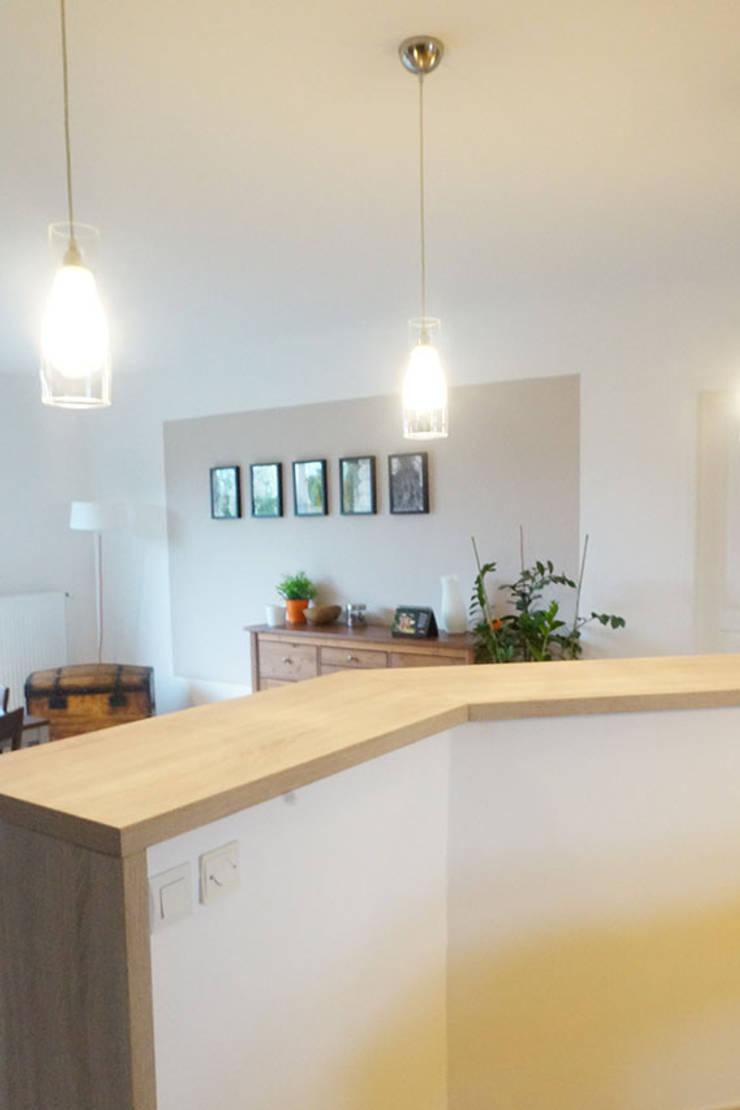 Décoration et relooking d'une cuisine avec verrière intérieure par ...