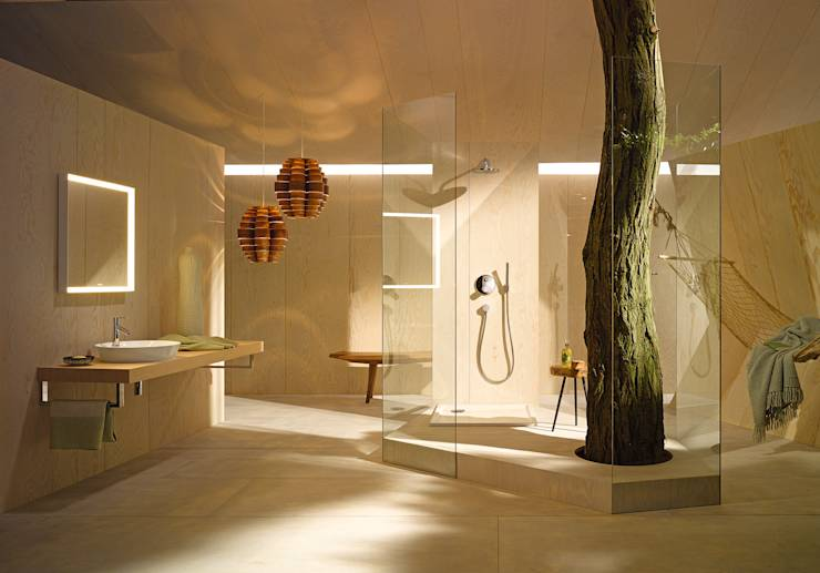 Espace Aubade - Salle de bains moderne par Espace Aubade  homify
