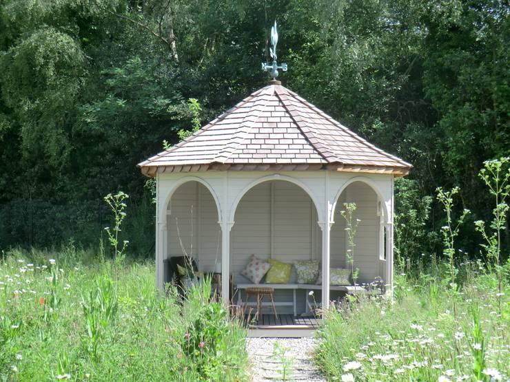 Gartenh uschen zum verlieben 43 wunderbare ideen die ihr for Architecture hexagonale