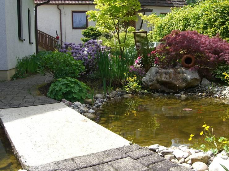Grüne Oase: klassischer Garten von BELLA FLORA GARTENGESTALTUNG