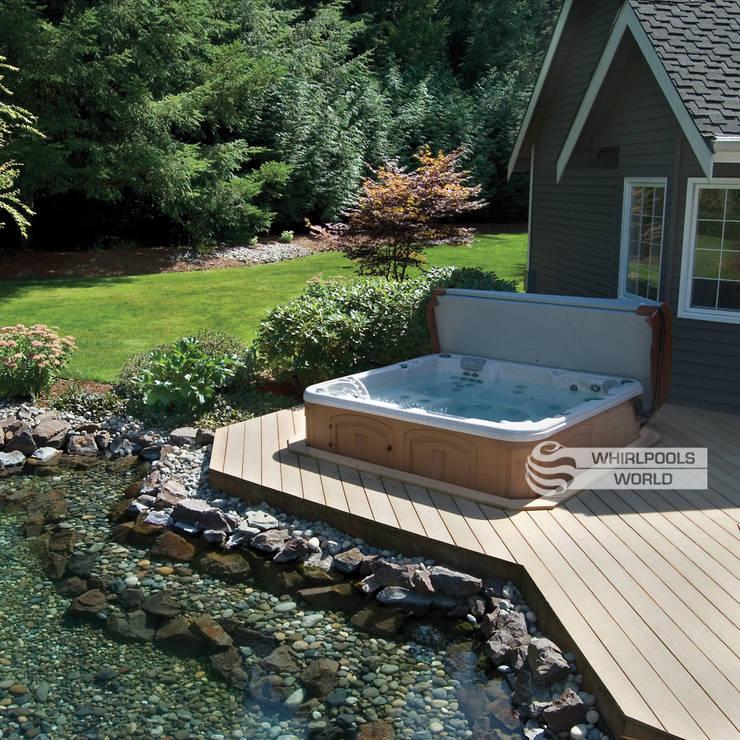 outdoor whirlpools von whirlpools world von whirlpools world homify. Black Bedroom Furniture Sets. Home Design Ideas