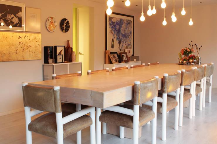 6 fant sticos comedores con mesas de madera for Comedores modernos mexico df