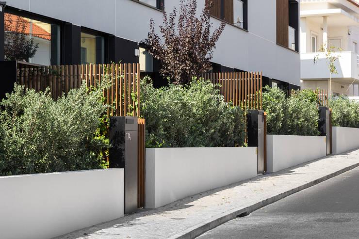 ideias jardins moradiasMoradias em banda, Queijas Habitações