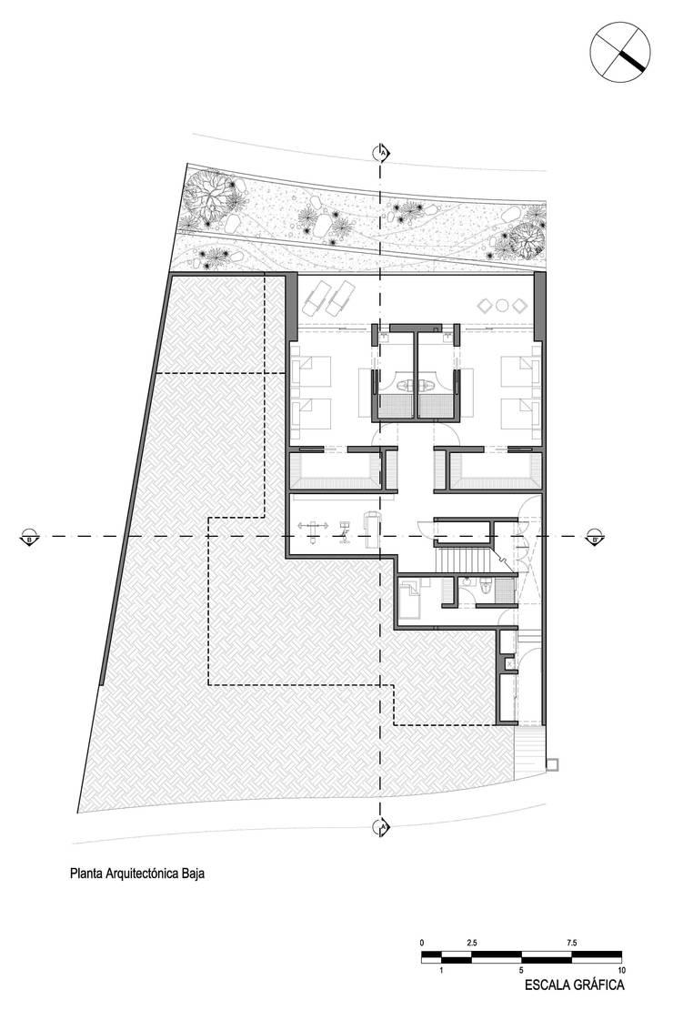 Casa mar de imativa arquitectos homify for Libros sobre planos arquitectonicos