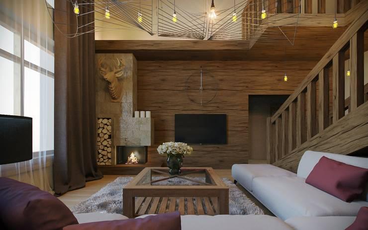 Wie kann ich ein modernes Haus rustikal einrichten?