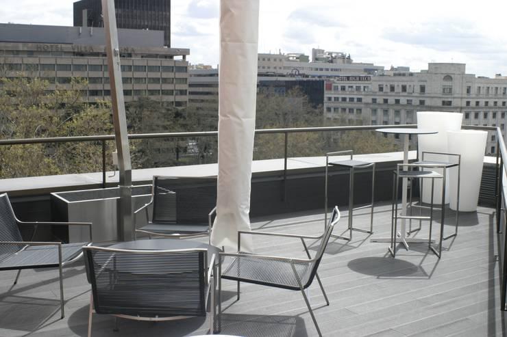 Reforma planta oficinas edificio bankinter madrid 2014 for Oficinas de bankinter en madrid