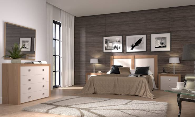 6 ideas para crear un dormitorio de color crema - Dormitorio beige ...