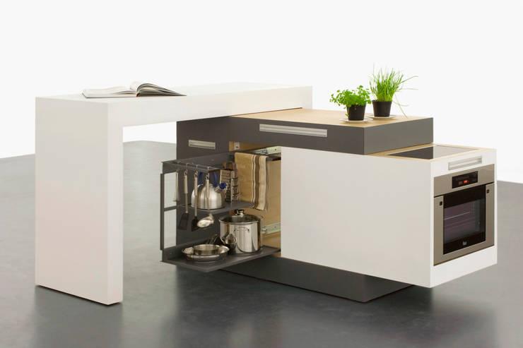 kleine k che clever einrichten. Black Bedroom Furniture Sets. Home Design Ideas