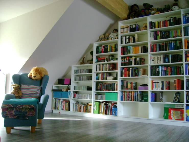 7 coole einbauregale für bücher ~ Bücherregal Für Dachschräge