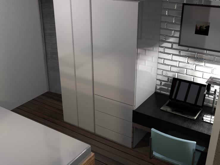 7 cl sets minimalistas sensacionales for Closet habitaciones modernas