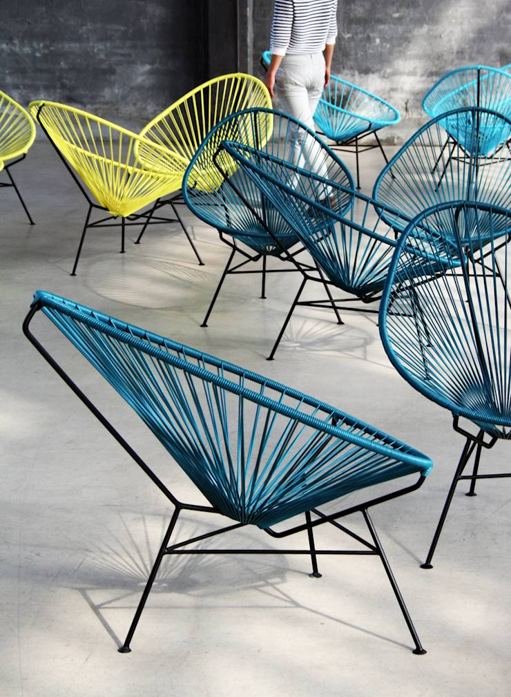 la original silla acapulco de akele mobiliario homify. Black Bedroom Furniture Sets. Home Design Ideas