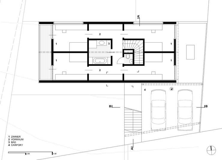 gol 2 einfamilienhaus von g o y a architekten homify. Black Bedroom Furniture Sets. Home Design Ideas