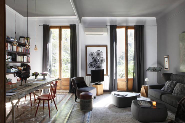 9 spektakul re wohnzimmer ideen for Charmant wandgestaltung landhausstil wohnzimmer