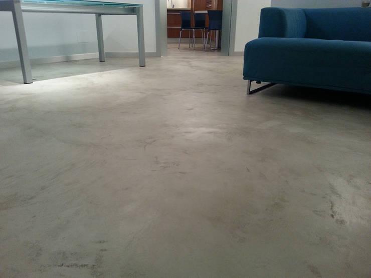 Salotto Stile Moderno Con Pavimento In Marmo Interior Design : Un ...
