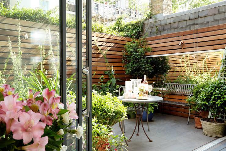 Jardins modernos por Cue & Co of London