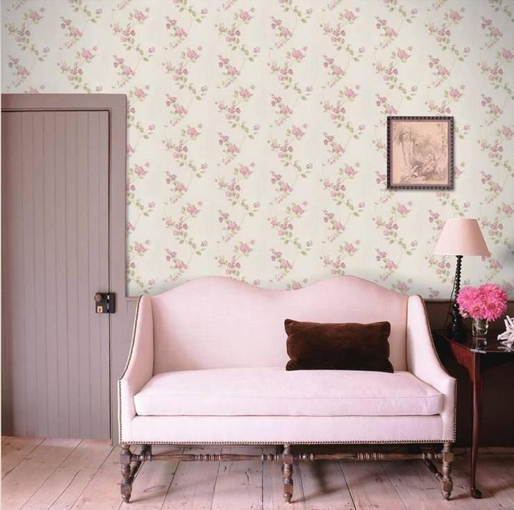 Paredes y pisos de estilo moderno por 4 Duvar İthal Duvar Kağıtları & Parke