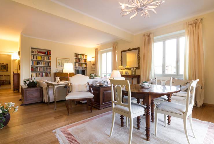Un appartamento classico per la vita moderna for Arredare casa in stile classico