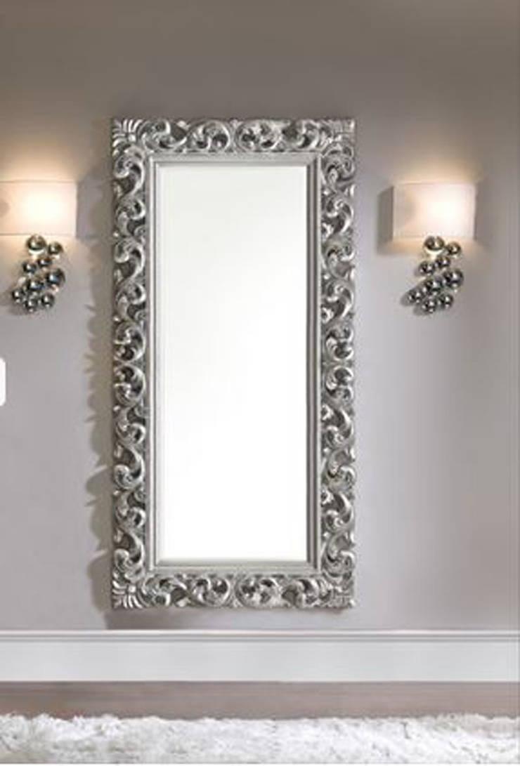 Espejos italianos de decoracion gimenez homify for Espejos grandes decorativos