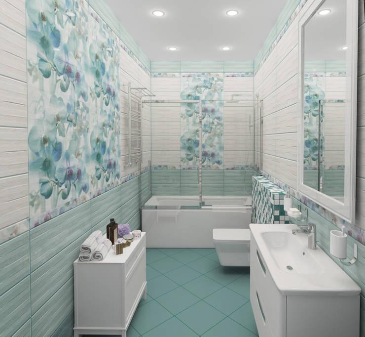 modern Bathroom by Гурьянова Наталья