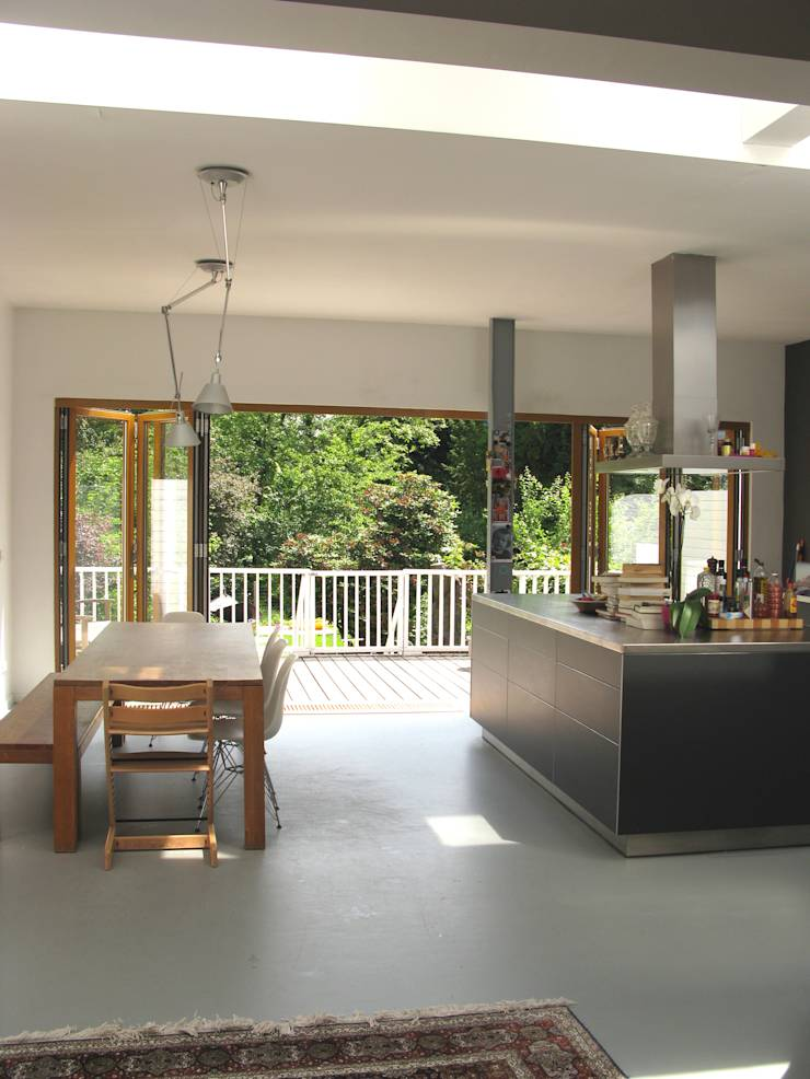 Keuken Renovatie Rotterdam : Renovatie en uitbouw herenhuis Rotterdam door Boks architectuur