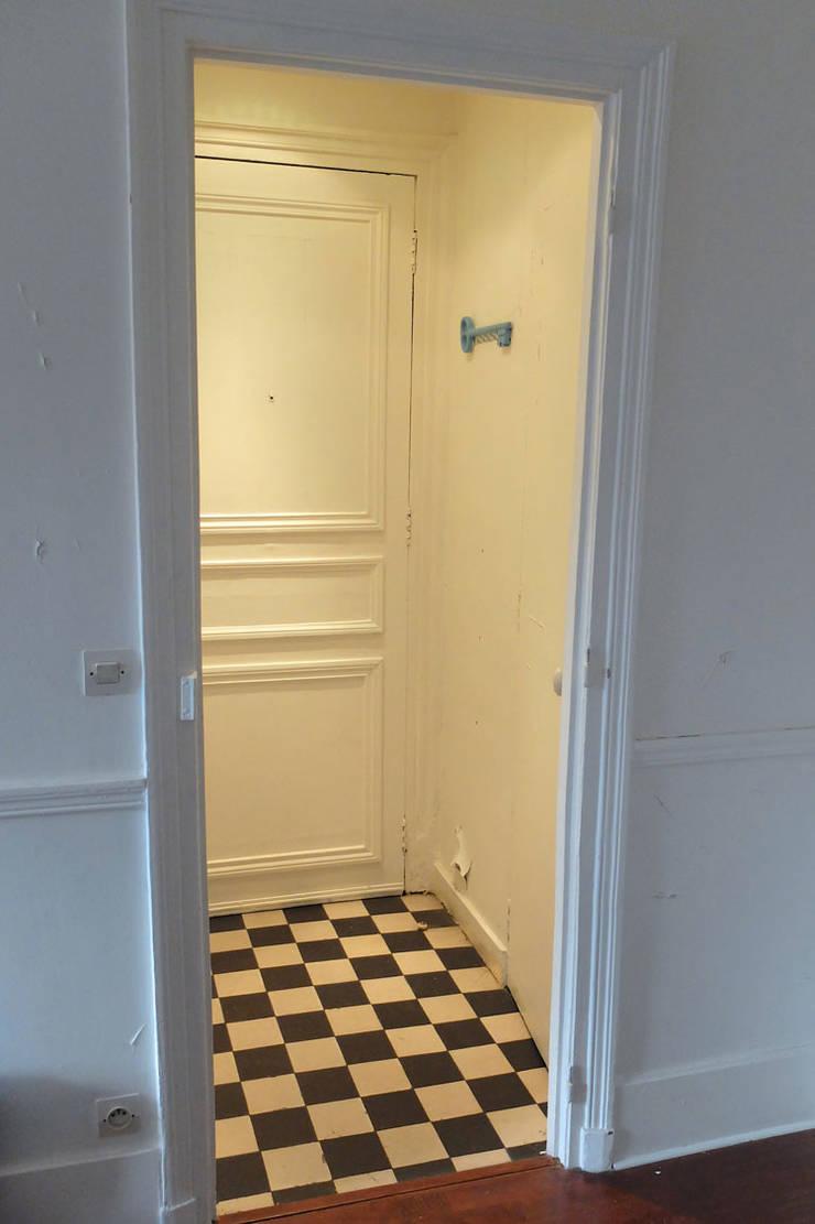Appartement Industriel Chic Moderne 55m2 75010 Paris Par Espaces R Ver Homify