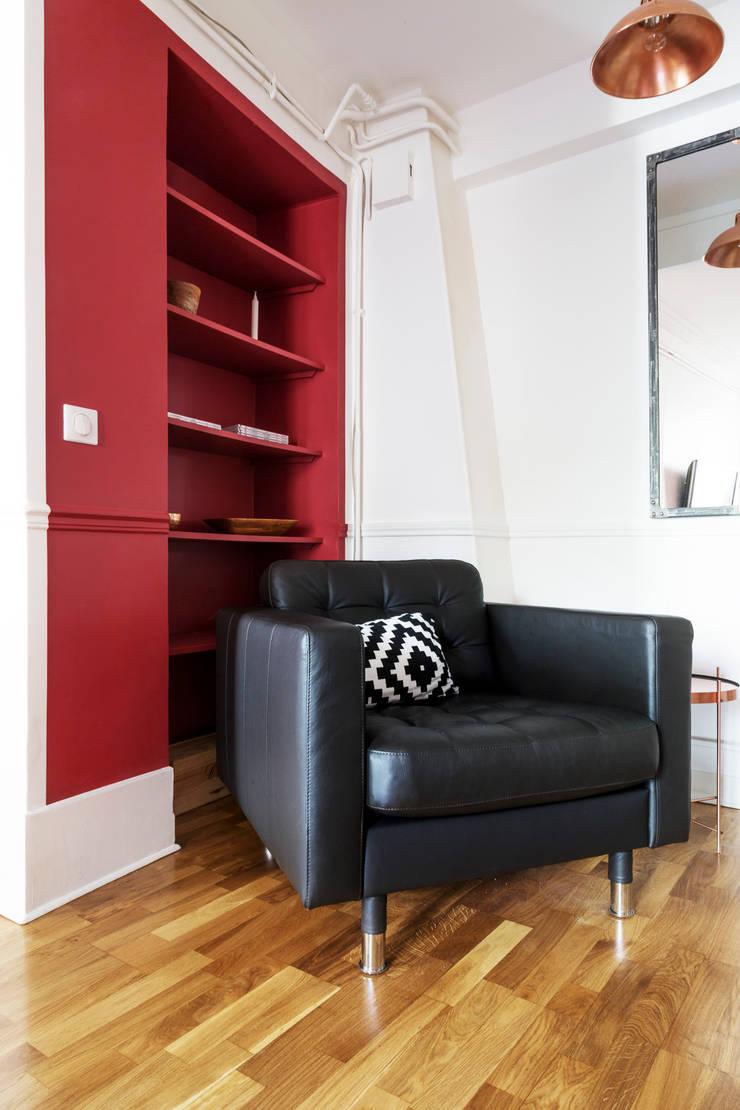 Appartement industriel chic & moderne 55m2 75010 Paris par Espaces ...