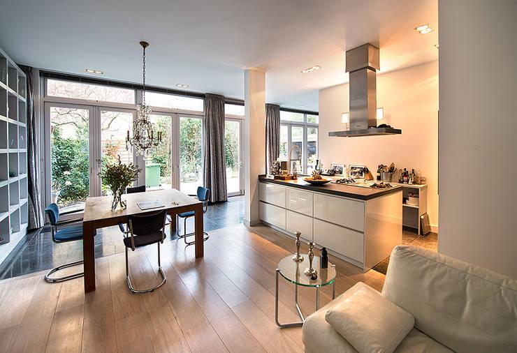 6 manieren om de keuken van de woonkamer te scheiden - Keuken open voor woonkamer ...