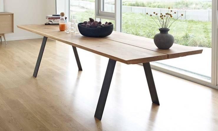 table extensible scandinave - 28 images - plank table de repas