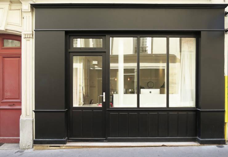 Collegare e separare con gusto le porte in ferro - Porte finestre in ferro ...