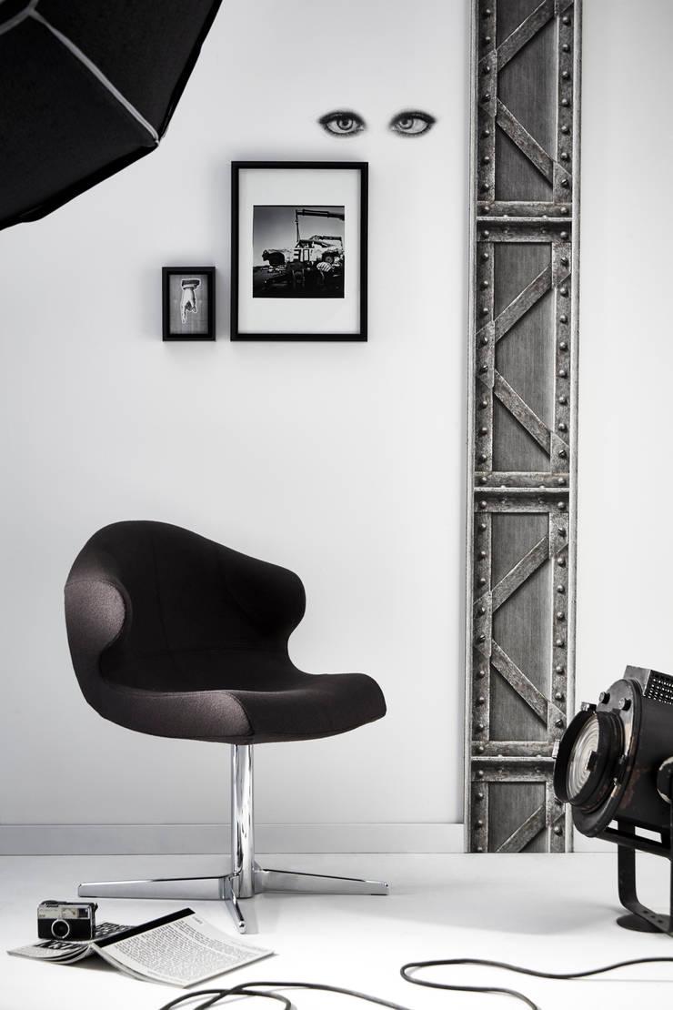 koziel papiers peints trompe l 39 oeil poutres m talliques acier par homify. Black Bedroom Furniture Sets. Home Design Ideas