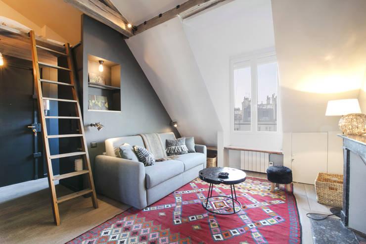 15 fabelhafte treppen f r kleine r ume. Black Bedroom Furniture Sets. Home Design Ideas