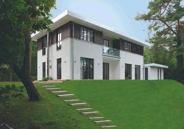 elegante villa im bauhausstil. Black Bedroom Furniture Sets. Home Design Ideas