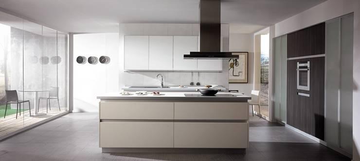 5 cocinas en blanco y negro - Muebles de cocina vegasa ...