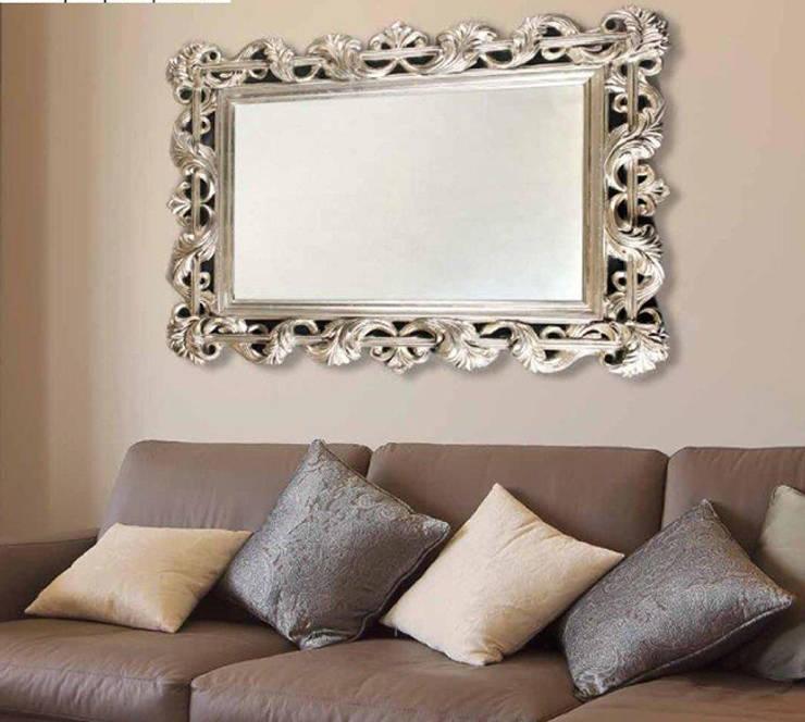 Espejos decorativos modernos de decoracion gimenez homify - Espejos modernos salon ...