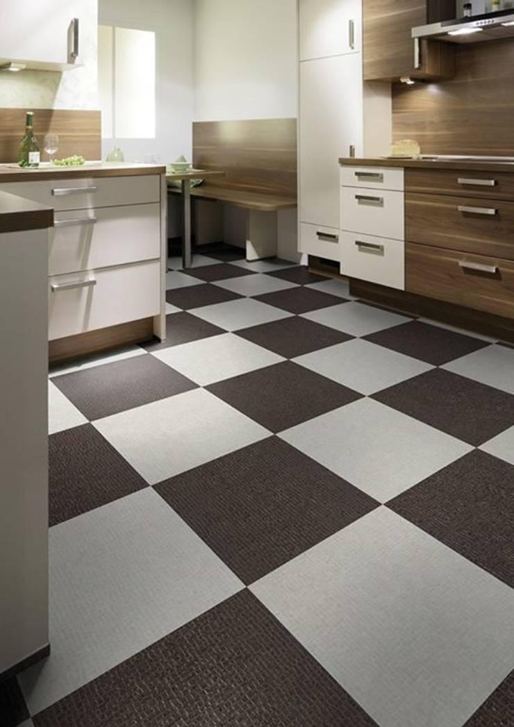 Cocina suelos y paredes de suelos y paredes sin obras homify - Suelos de cocina ...
