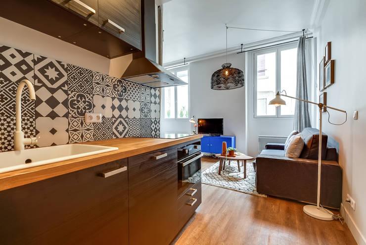 10 raisons de vouloir une cuisine grise. Black Bedroom Furniture Sets. Home Design Ideas
