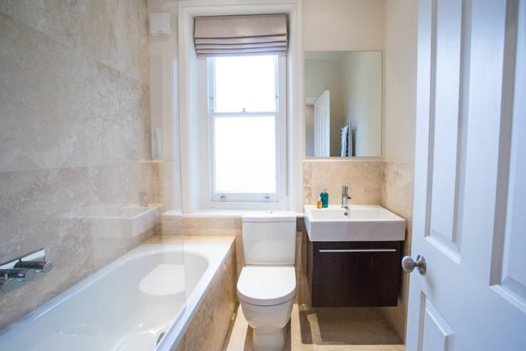 modern Bathroom by GK Architects Ltd